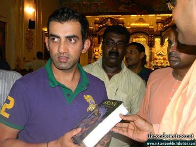 Gautam Gambhir Visited ISKCON Kolkata