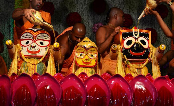 Snana Yatra Celebration