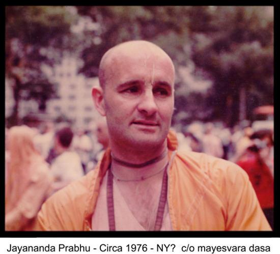 1976 NY-Jayananda Prabhu